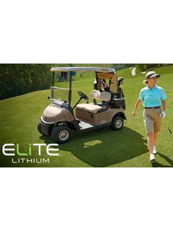 Ezgo Rxv New E-Z-GO ELiTE Lithium Series