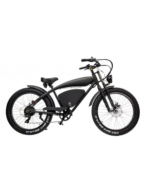 Elektrische fiets Fatwheel E Bike vintage cruiser