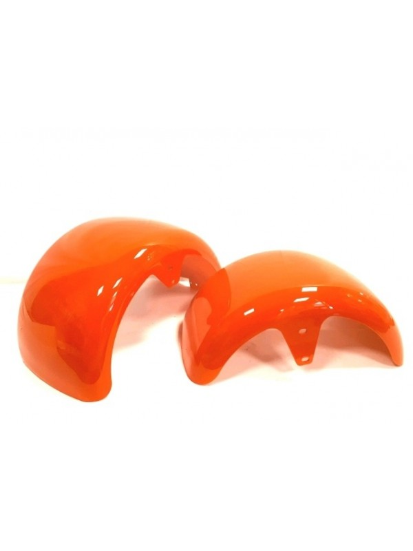 Spatborden kleur oranje voor de Bigwheelcruiser Accu step