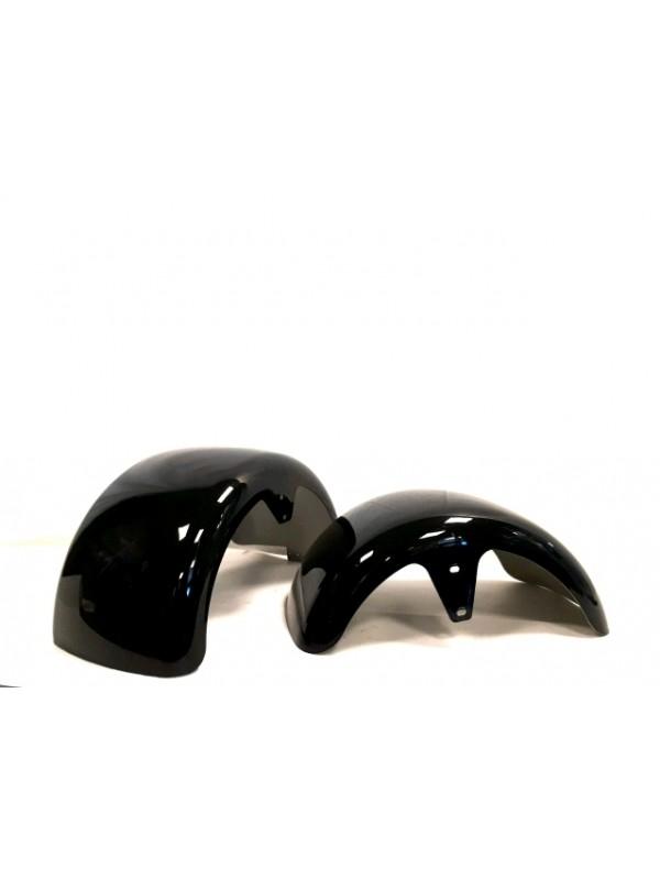 Spatborden kleur zwart voor de Bigwheelcruiser Accu step