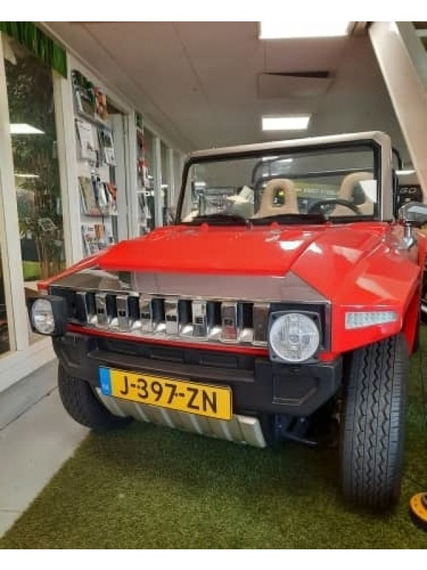Hummer HX mini Golfkar met kenteken road legal