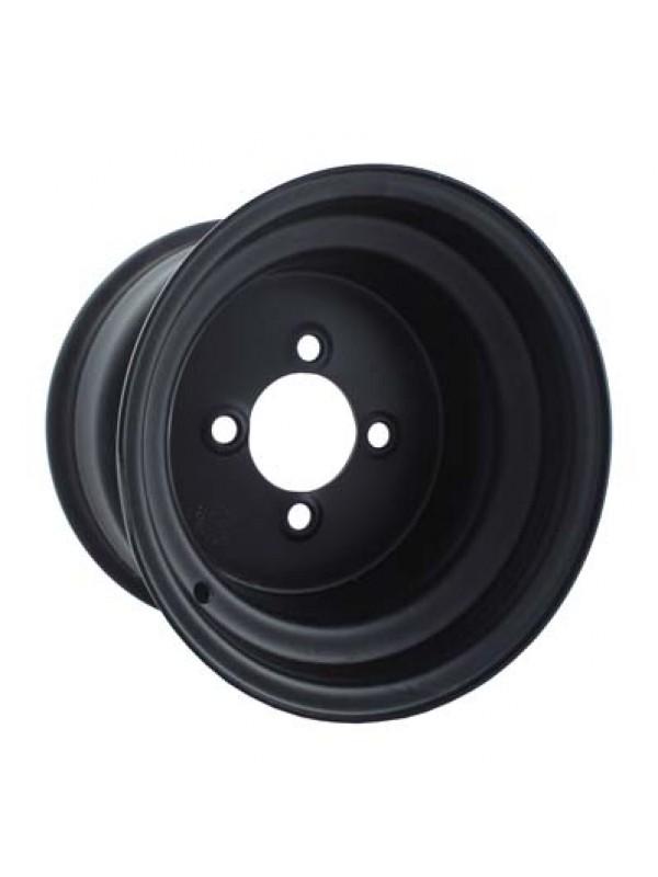 Zwarte 10 inch off set  velgen