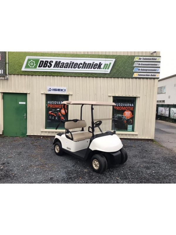 Ezgo RXV bj 2011 golfkar met nieuwe accuset kleur wit 48v