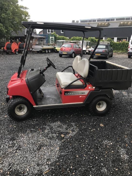 Club car Carryall 232 benzine Transporter heavy duty