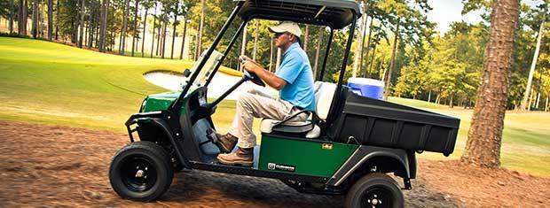 Transporter golfkarren